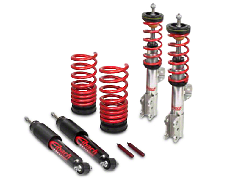 eibach pro street s mustang coilover kit 15 17. Black Bedroom Furniture Sets. Home Design Ideas