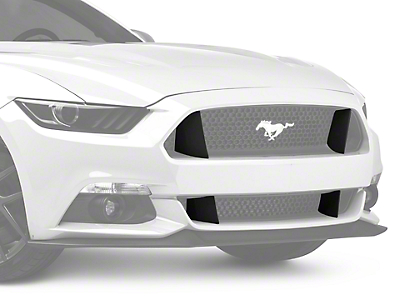 MMD GT350 Style Upper & Lower Grille Extensions (15-17 GT)