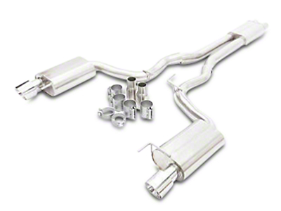 Krona Performance 3 in. Cat-Back Exhaust - Fastback (15-17 GT)