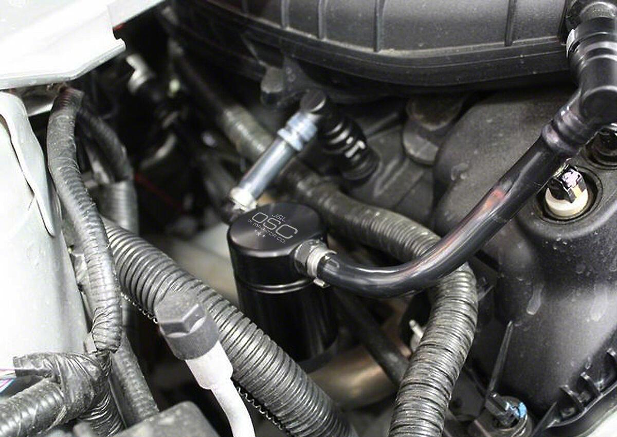 JLT V3.0 Black Oil Separator - Passenger Side (11-17 V6)