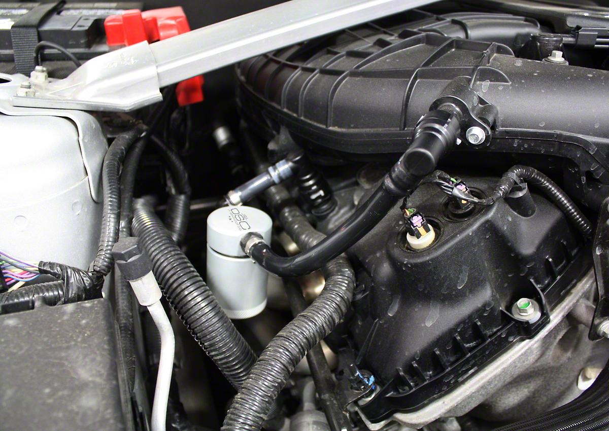 JLT V3.0 Satin Oil Separator - Passenger Side (11-17 V6)