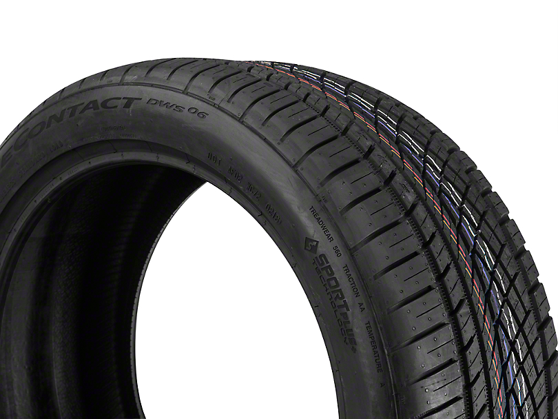 continental extreme contact dws06 high performance all season mustang tire 275 40r19. Black Bedroom Furniture Sets. Home Design Ideas