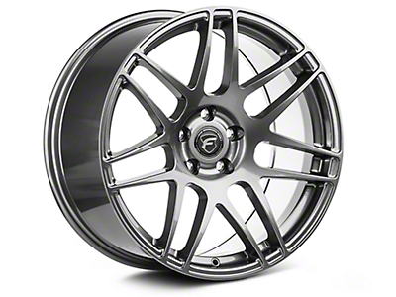 Forgestar Gunmetal F14 Drag Edition Wheel - 17x7 (05-14 All; Excludes 13-14 GT500)