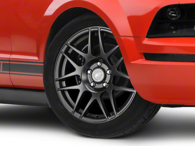 Forgestar Matte Black F14 Drag Edition Wheel - 17x4.5 (05-14 All)