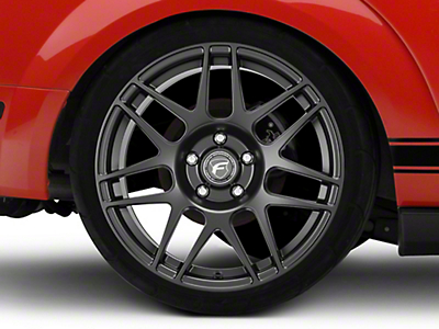 Forgestar Matte Black F14 Drag Edition Wheel - 17x9.5 (05-17 All)