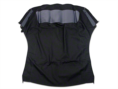 Replacement Convertible Top w/ Plastic Rear Window - Black (94-04 All)