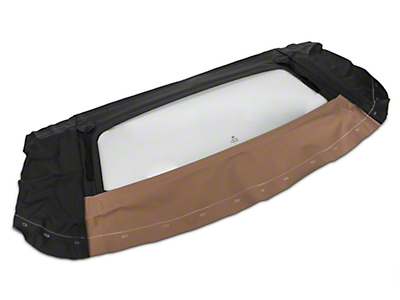 Replacement Convertible Tinted Rear Window Glass - Saddle (94-04 All)