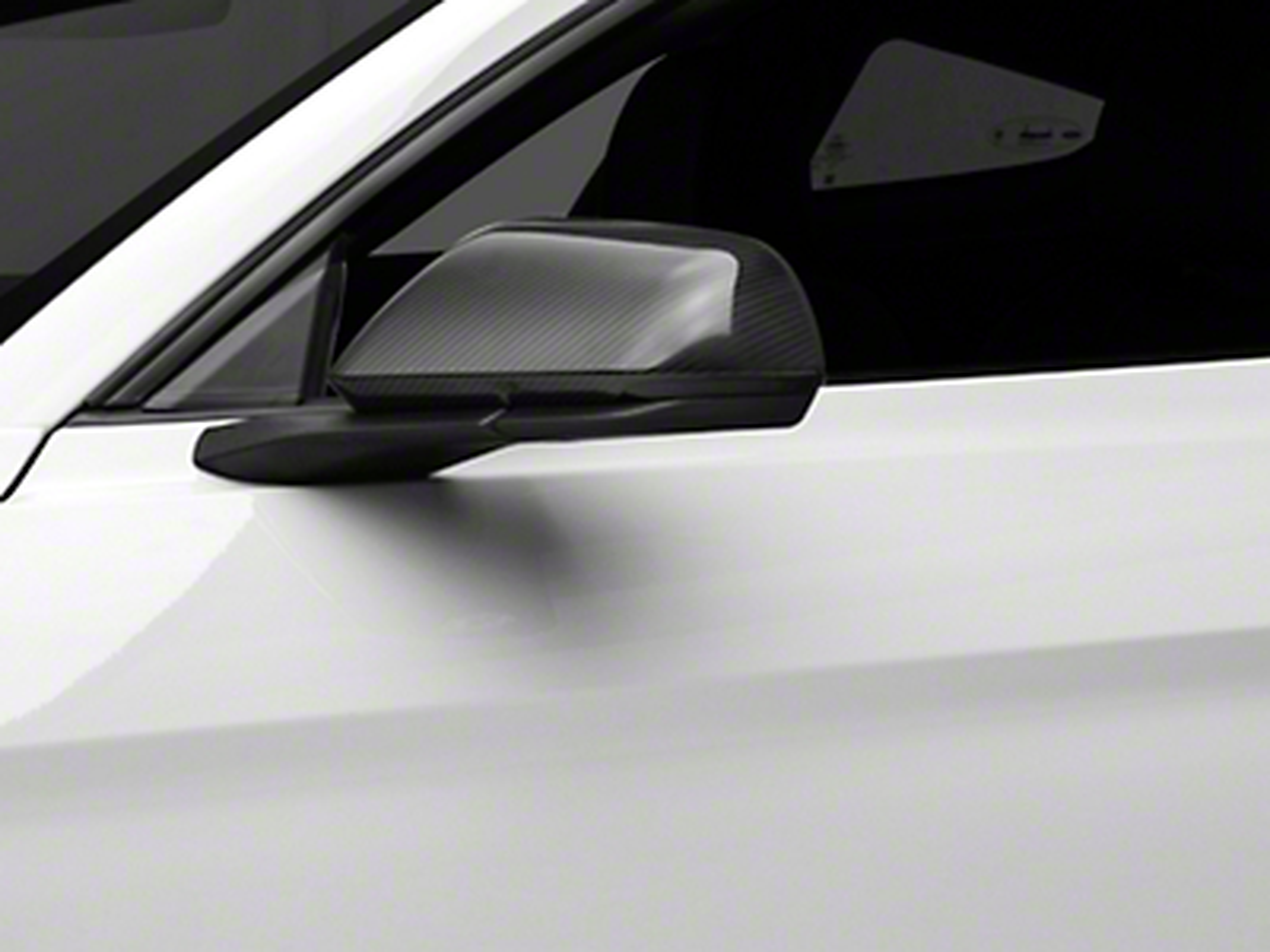 MMD Carbon Fiber Mirror Covers (15-17 GT, EcoBoost, V6 w/ Mirror Signals)