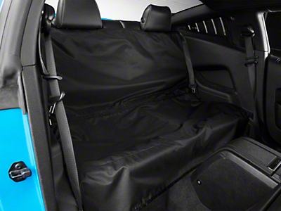 Covercraft Canine Covers Econo Rear Seat Protector - Black (05-14 Coupe)