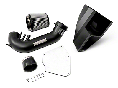 cp-e IceBox Cold Air Intake - Synoil Oiled Filter - Black (15-17 GT)