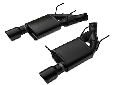 RTR Tactical Performance Competition Spec Axle-Back Exhaust - Black Tip (11-14 GT)