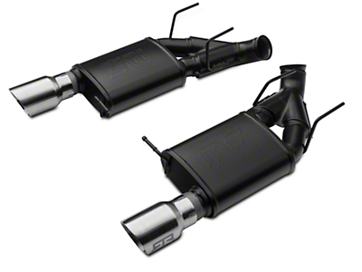 RTR Tactical Performance Competition Spec Axle-Back Exhaust - Chrome Tip (11-14 GT)