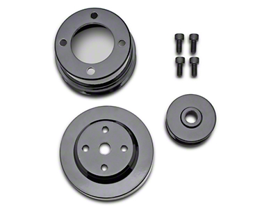 MAC Underdrive Pulleys - Steel (83-93 5.0L)