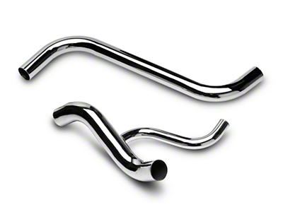 Chrome Radiator Hose Kit (96-00 GT)