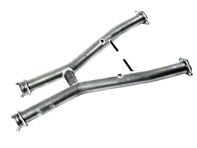 MAC Off-Road Shorty H-Pipe (94-97 V6)