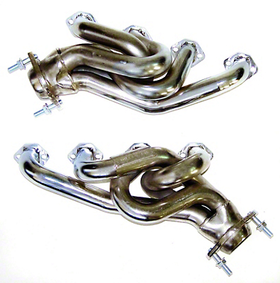 MAC Chrome Equal Length Shorty Headers (79-93 5.0L)