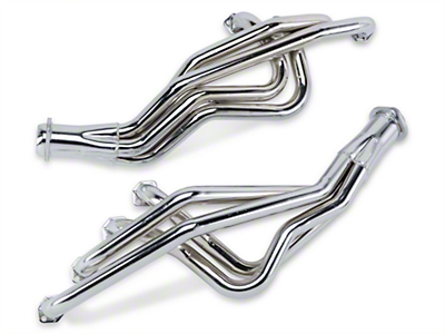 MAC Chrome Long Tube Headers - Manual (79-93 5.0L)