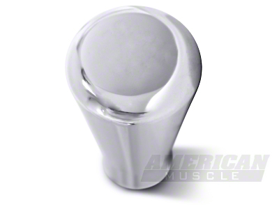 Polished Billet Shift Knob - Plain (79-04)