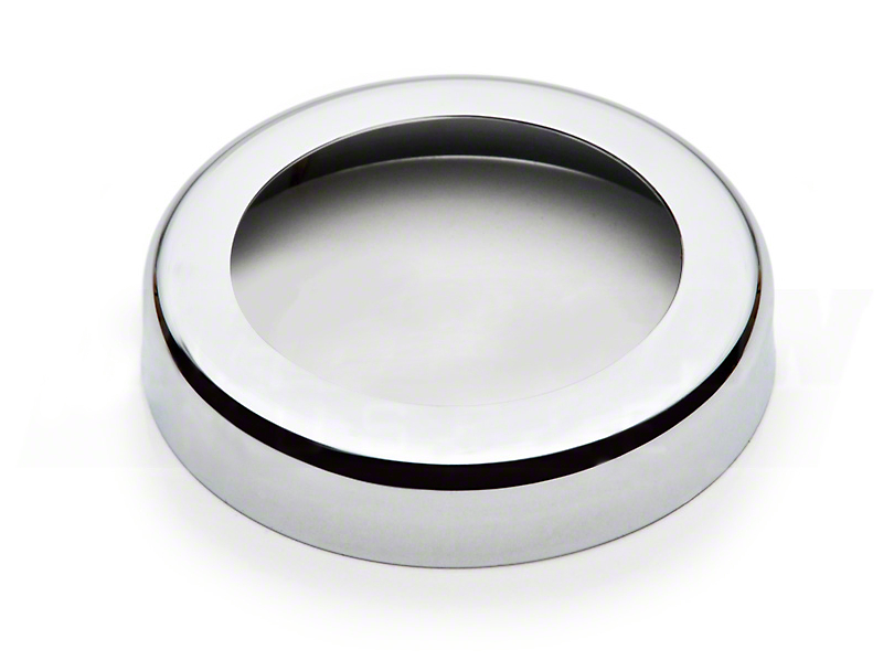 Chrome Oil Cap Cover Bezel (86-14 All)
