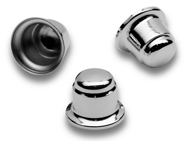 SpeedForm Chrome Strut Tower Nut Cap Cover Set (94-04 All)