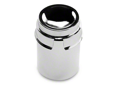Chrome Power Steering Reservoir Tube Cover (86-93 5.0L; 94-02 V6)