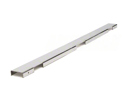 Polished Stainless Steel Radiator Cover - 2 Row (86-93 5.0L)