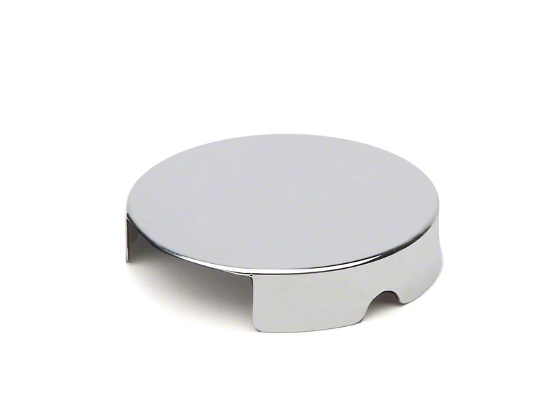 Chrome Windshield Washer Reservoir Cap Cover (86-95 5.0L; 96-97 4.6L)