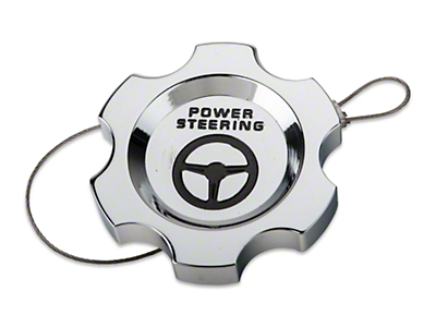 Chrome Power Steering Cap (05-10 All)