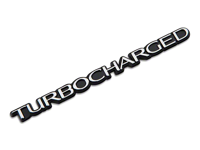 Turbocharged Emblem