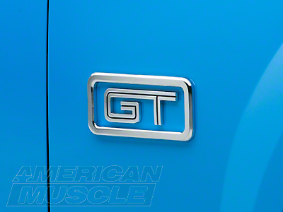 Modern Billet Chrome GT Logo Surrounds (05-10 GT)
