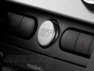 Satin Power Plug - GT Logo (05-09 All)