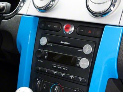 Modern Billet Satin 3 Piece Radio Button Covers (05-09 All)