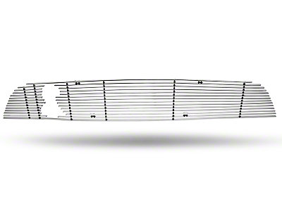 Modern Billet Polished Billet Grille - Upper (10-12 GT500)
