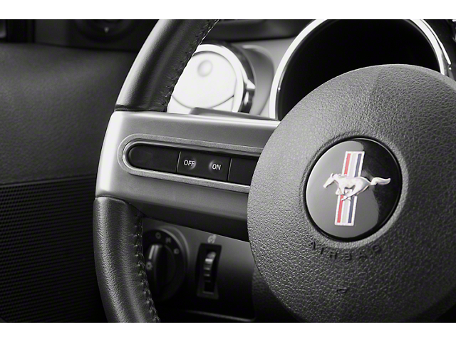 Modern Billet Satin Steering Wheel Button Bezels (05-09 All)
