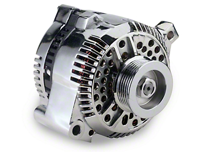 Chrome Alternator - 130 Amp (94-00 V6)