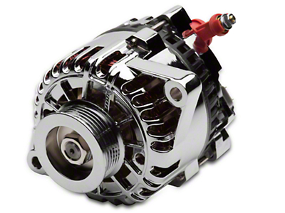 PA Performance Chrome Alternator - 105 Amp (01-04 V6)