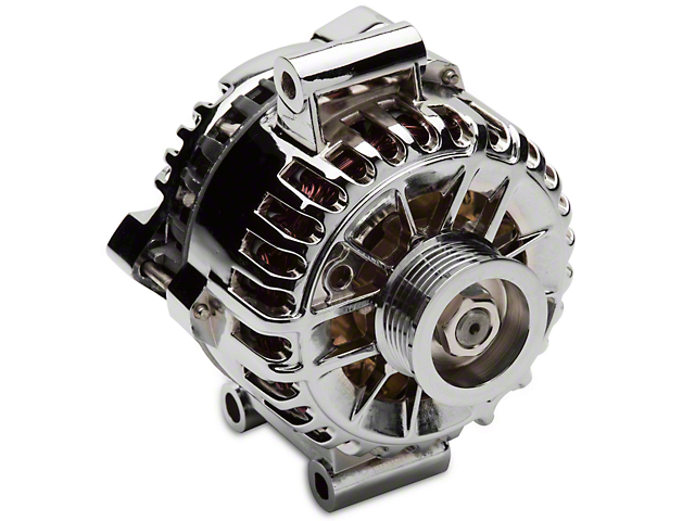 Chrome Alternator - 135 Amp (05-08 V6)
