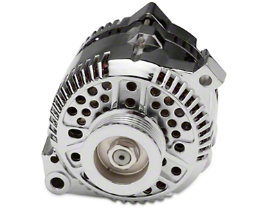 Chrome Alternator - 135 Amp (07-08 V6)