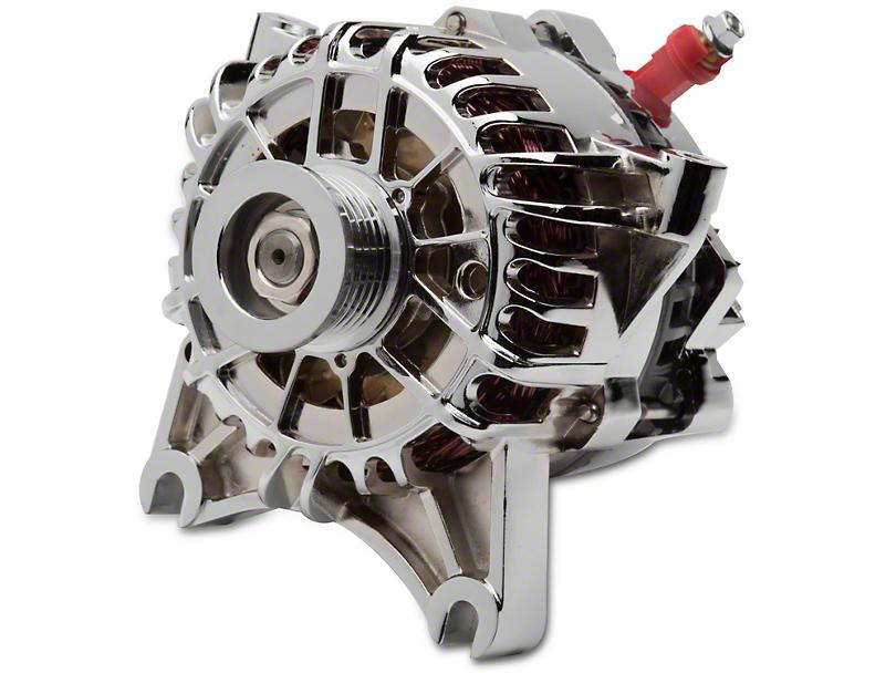 PA Performance Chrome Alternator - 105 Amp (99-04 GT)