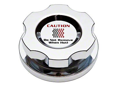 Modern Billet Chrome Radiator Cap Cover (96-04 GT, Cobra)