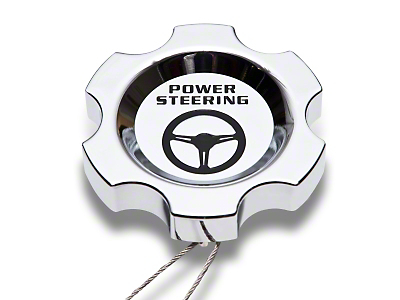 Chrome Power Steering Cap (96-04 GT, Cobra)