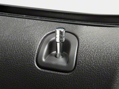 Add Modern Billet Chrome Door Lock Pins