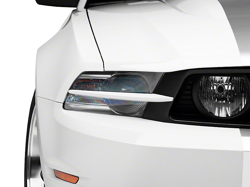MMD Headlight Splitters - Unpainted (10-12 GT)