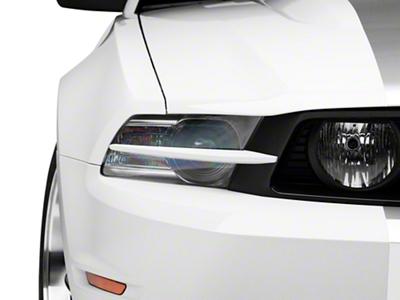 MMD Headlight Splitters - Unpainted (10-12 GT)