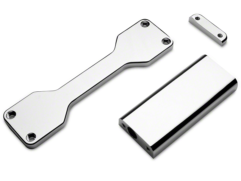 Modern Billet Chrome Battery Hold Down Bracket (05-09 All)