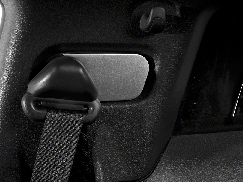 Modern Billet Satin Seat Belt Anchor Covers (05-09 All)