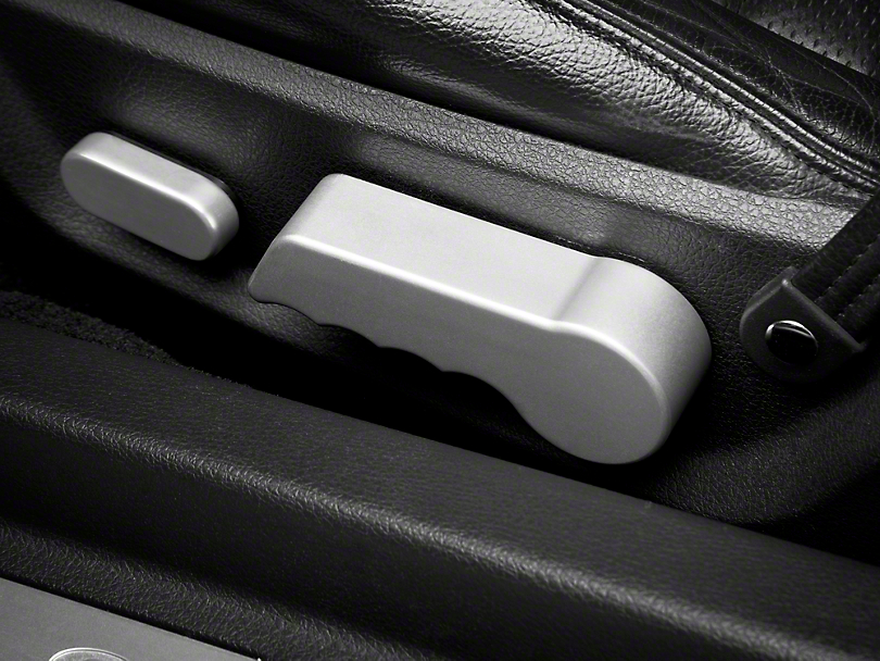 Modern Billet Satin Seat Tilt Lever Covers (05-14 All)