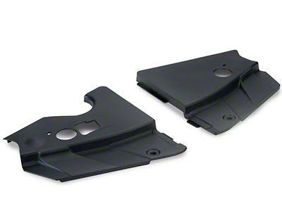Radiator Extension Covers - Unpainted (05-09 GT, V6)