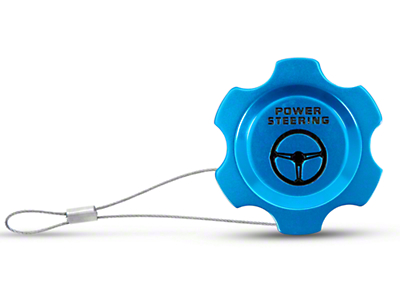 Anodized Blue Power Steering Fluid Cap (05-10 All)