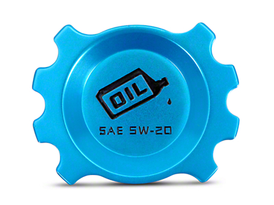Modern Billet Anodized Blue Oil Cap (05-14 GT; 11-14 V6)